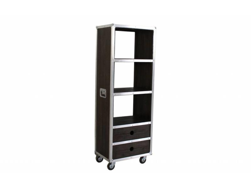 Open kast op wielen XL - Darkboxes