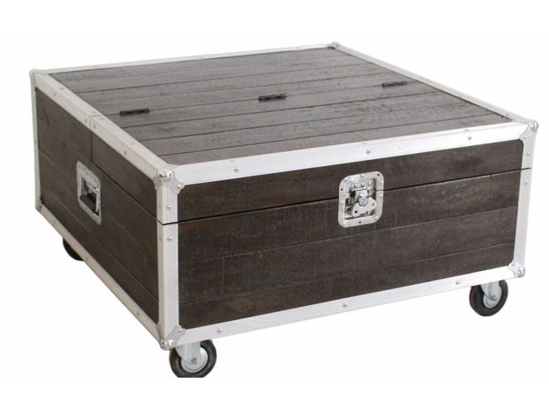 Salontafel op wielen - Darkboxes