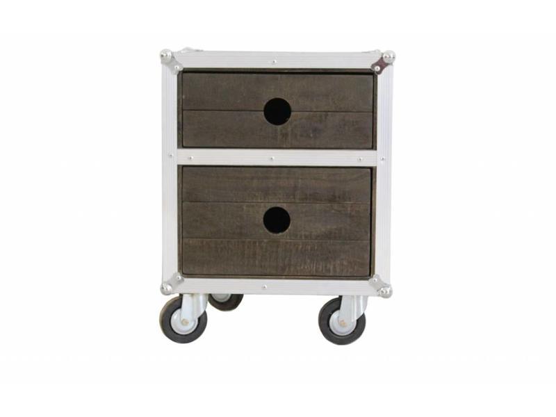 Nachtkastje op wielen - Darkboxes