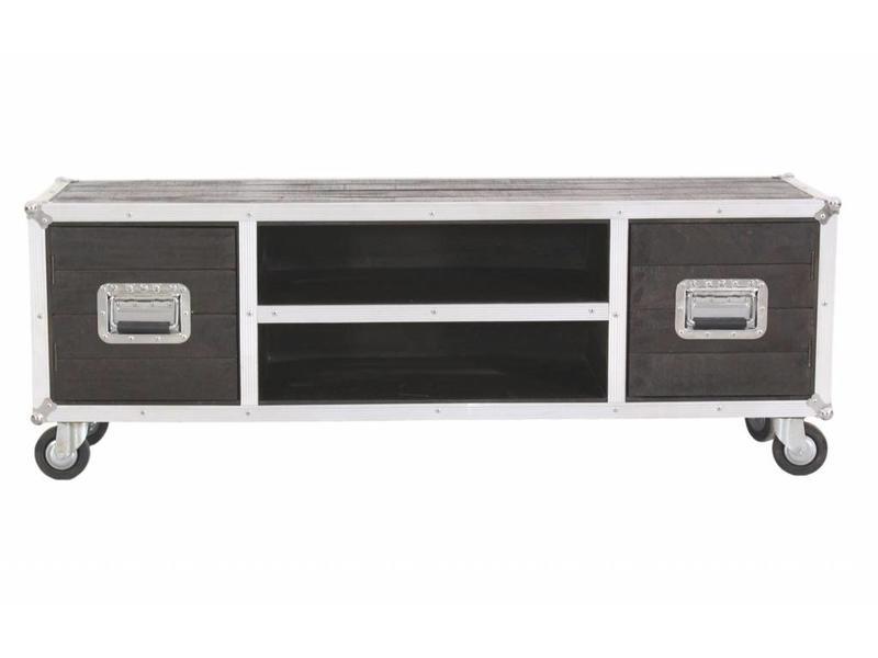 TV Meubel op wielen - Darkboxes