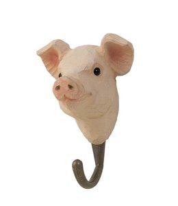 Kleiderhaken Schwein