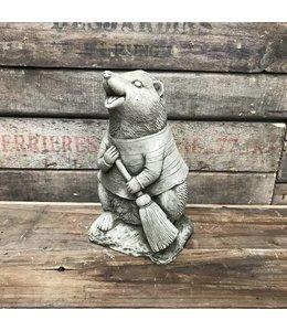 """Steinfigur """"Igel"""" mit Antik-Patina für den Landhausgarten"""
