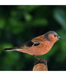 """Wildlife Garden Deko-Vogel """"Buchfink"""" Holz"""