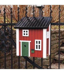 Briefkasten rot - Landhausstil