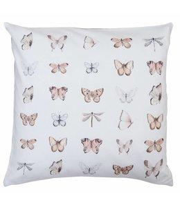 Kissen Vintage Kissenhülle Schmetterlinge