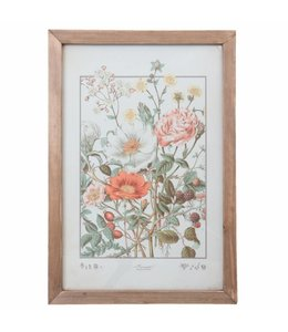 """Wandbild Vintage """"Blumen"""" 40x58"""