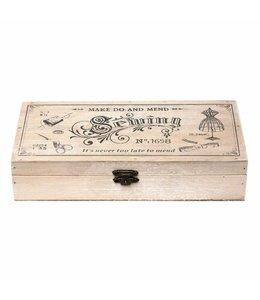 Nähkästen Vintage Nähkästchen Holz