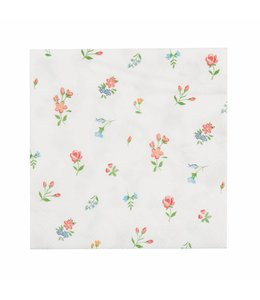 "Clayre & Eef Papierservietten ""Blumen"""