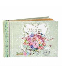 Clayre & Eef Notizbuch Gartenträume