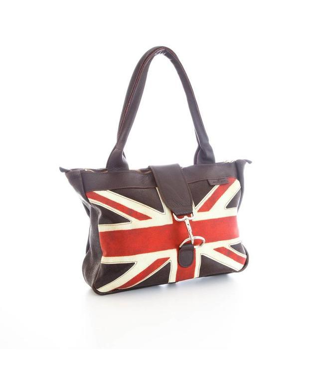 "Bradleys Englische Handtasche ""British Flag Weekend Bag"""
