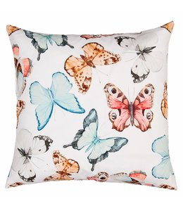 Clayre & Eef Kissenhülle Schmetterlinge
