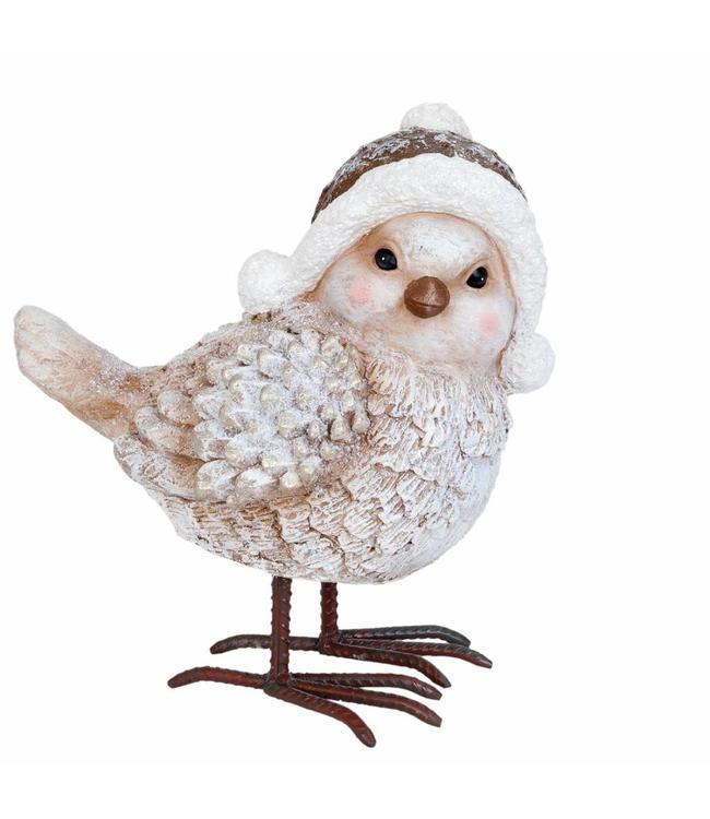 Vogel mit Mütze