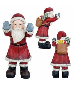 Weihnachtsmann Fenstergucker