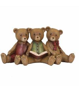 """Dekofigur """"Teddybären mit Buch"""""""