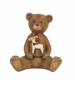 """Dekofigur """"Teddybär mit Schaukelpferd"""""""