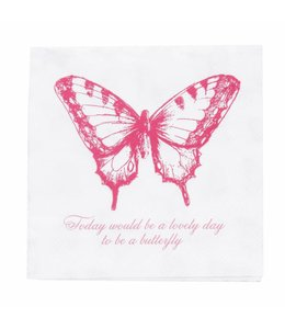"Papierservietten ""Schmetterling"""
