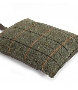 Tweedmill Kniekissen Tweed Braun