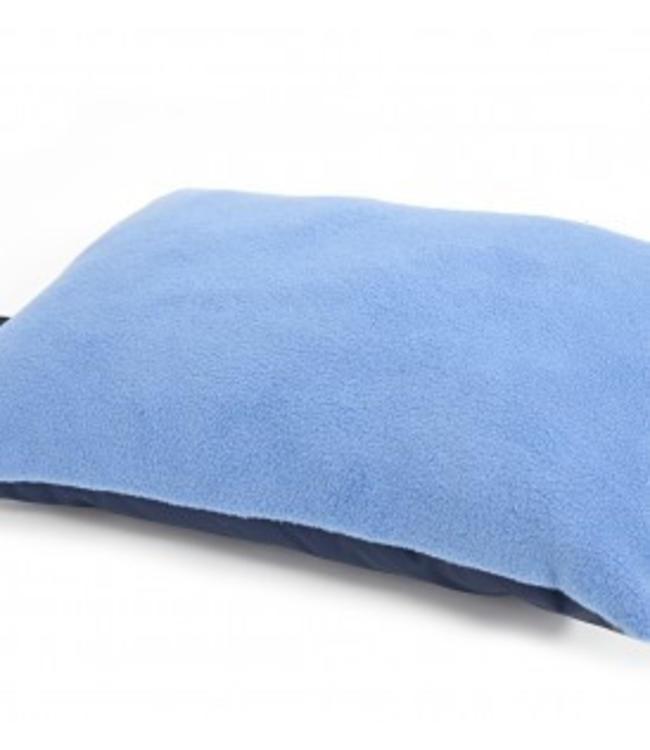 Tweedmill Kniekissen Fleece hellblau