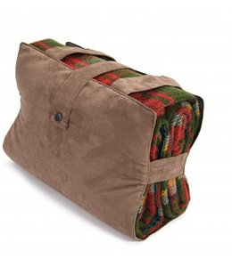 "Tweedmill Luxus Picknickdecke Ascot ""Dark Maple"""