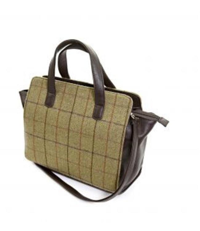 Handtasche Tweed