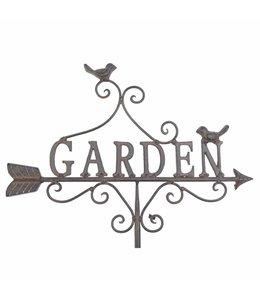 """Gartenschild """"Garden"""""""