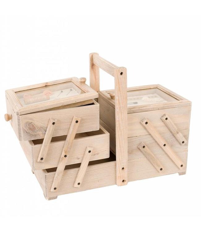 Nähkasten Holz