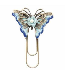 Memoklammer Schmetterling