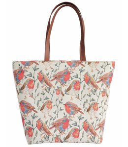 """Handtaschen Vintage Handtasche Landhausstil """"Rotkehlchen"""""""