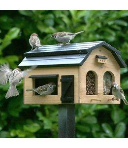 Futterscheune für Vögel, natur