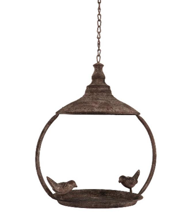 Hängendes Vogelhaus im Landhausstil