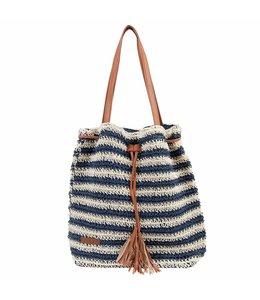 """Handtaschen Vintage Handtasche Landhausstil """"BlueStripe"""""""