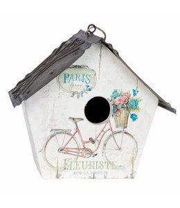 """Deko-Vogelhaus """"Paris"""" Vintage"""