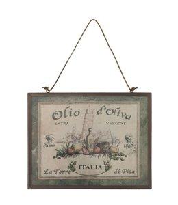 Italienisches Dekoschild für das Landhaus