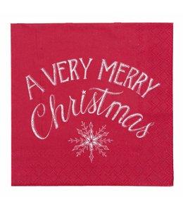 """Servietten Vintage Papierservietten """"Christmas"""""""