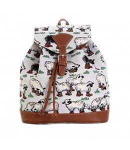 """Vintage Rucksack für Damen """"Schafe"""""""