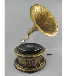 Grammophon Messing