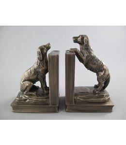 """Buchstützen-Set """"Hunde"""""""