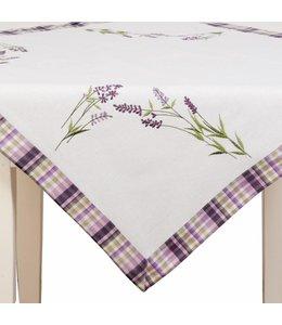 """Tischdecke Landhaus """"Lavendel der Provence"""" 85 x 85"""