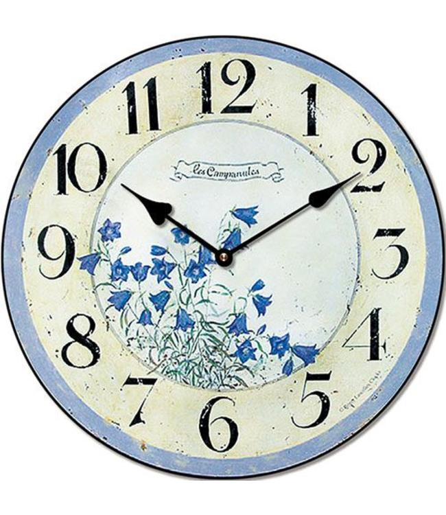 "Wanduhr ""Clock Blue"""
