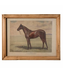 Wandbild Pferd im englischen Landhausstil