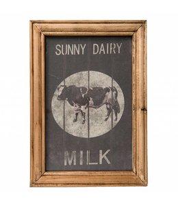 """Wandbild """"Sunny Dairy Milk"""" im englischen Landhausstil"""