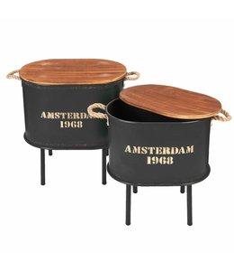 """Beistelltische """"Amsterdam"""" 2er-Set"""