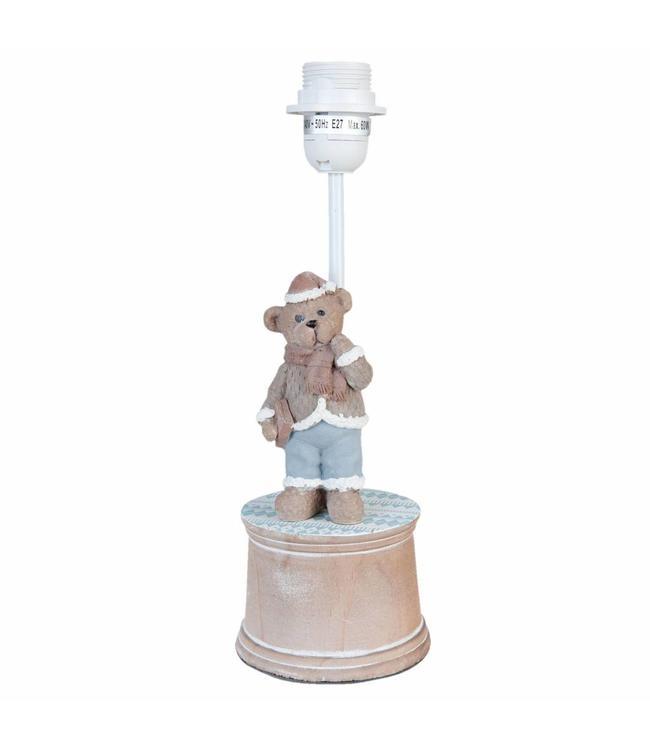 Lampenfuß (Tischlampe) für das Kinderzimmer im Landhaus