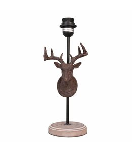 Lampenfuß (Tischlampe) Hirsch
