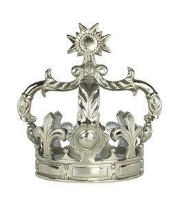 Deko-Krone silber