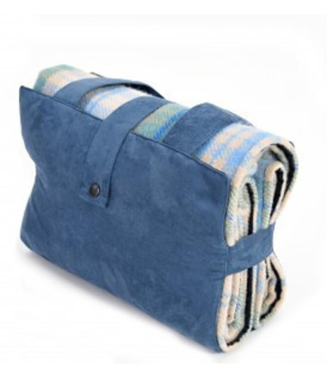 "Tweedmill Picknickdecke Ascot ""Cottage Blue"""