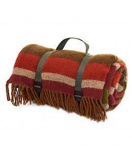 "Picknickdecke Polo ""Country Stripe, Olive"""