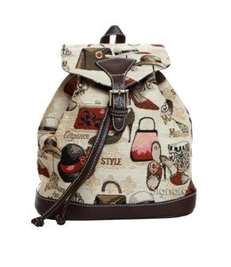 """Vintage Rucksack für Damen """"Boutique"""""""