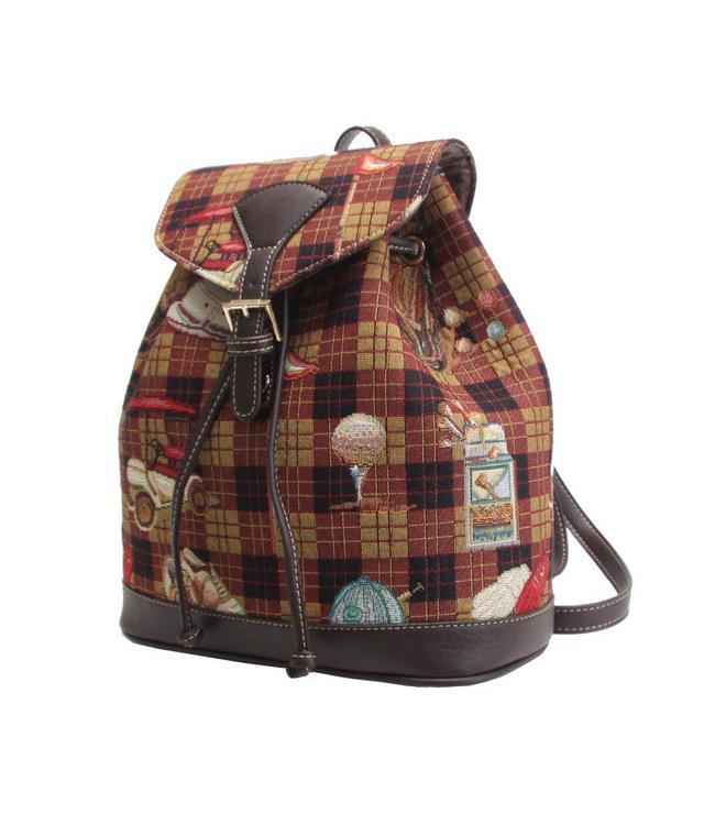 """Vintage Rucksack für Damen """"Golf"""""""