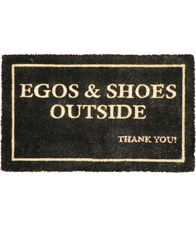 """Fußmatte Landhaus """"Egos & Shoes"""""""
